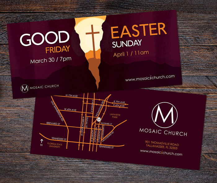 Griffin design tallahassee web design and graphic design american fitness punchcards and business card mosaic easter postcard colourmoves
